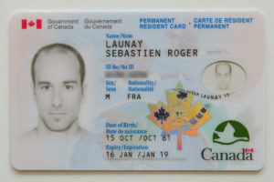 government of canada permanent resident card