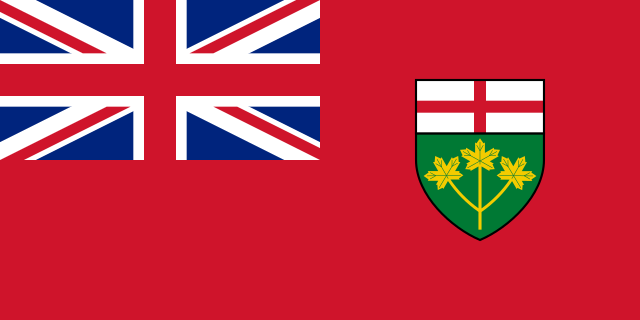 oinp - flag of ontario
